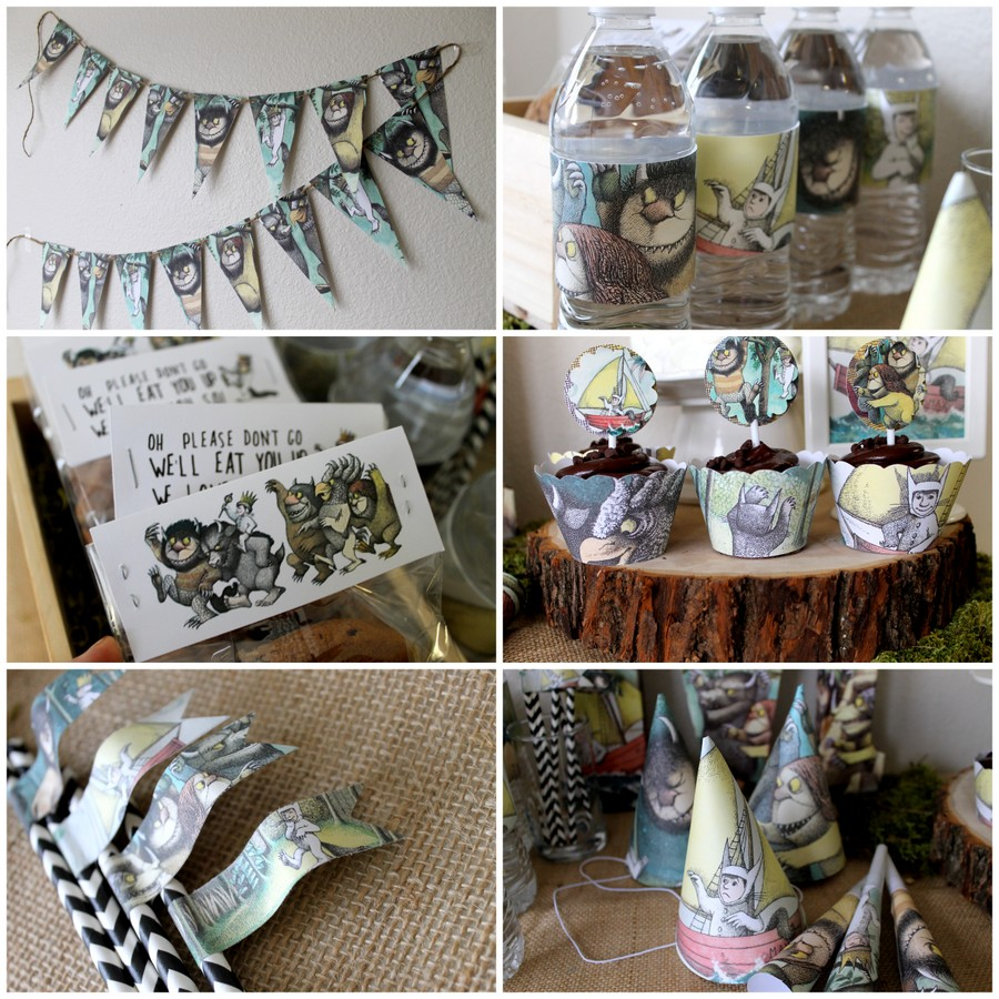 Where The Wild Things Are Pdf Party Package