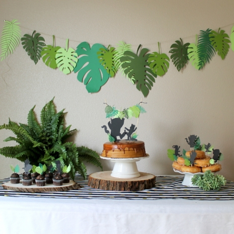 Wild Thing Silhouette And Leaf Package Frolic And Frills