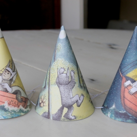 where the wild things are party hats