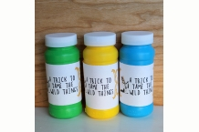 where the wild things are theme birthday party printable bubble sleeves favors