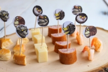 where the wild things are theme birthday party baby shower food picks