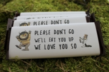 Where The Wild Things Are Chocolate Bar Wraps