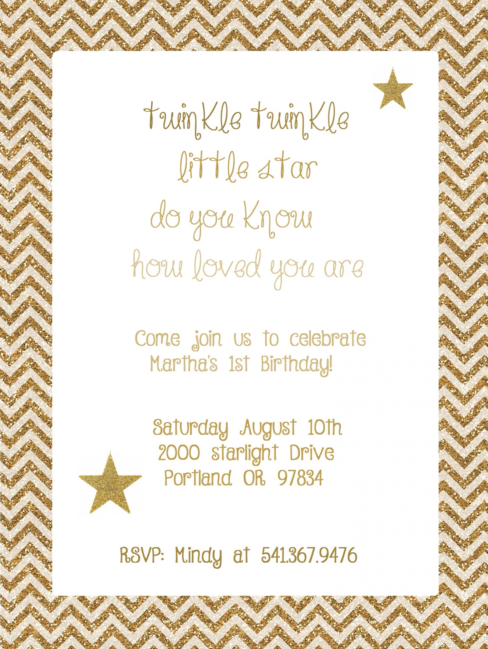 Twinkle Twinkle Little Star | Frolic and Frills